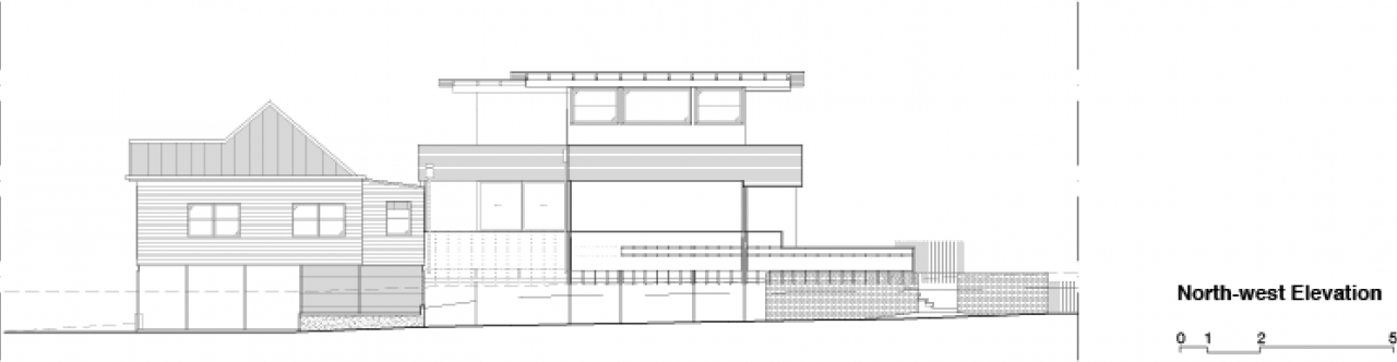 Brisbane Architect Acke Plinth House North West Elevation