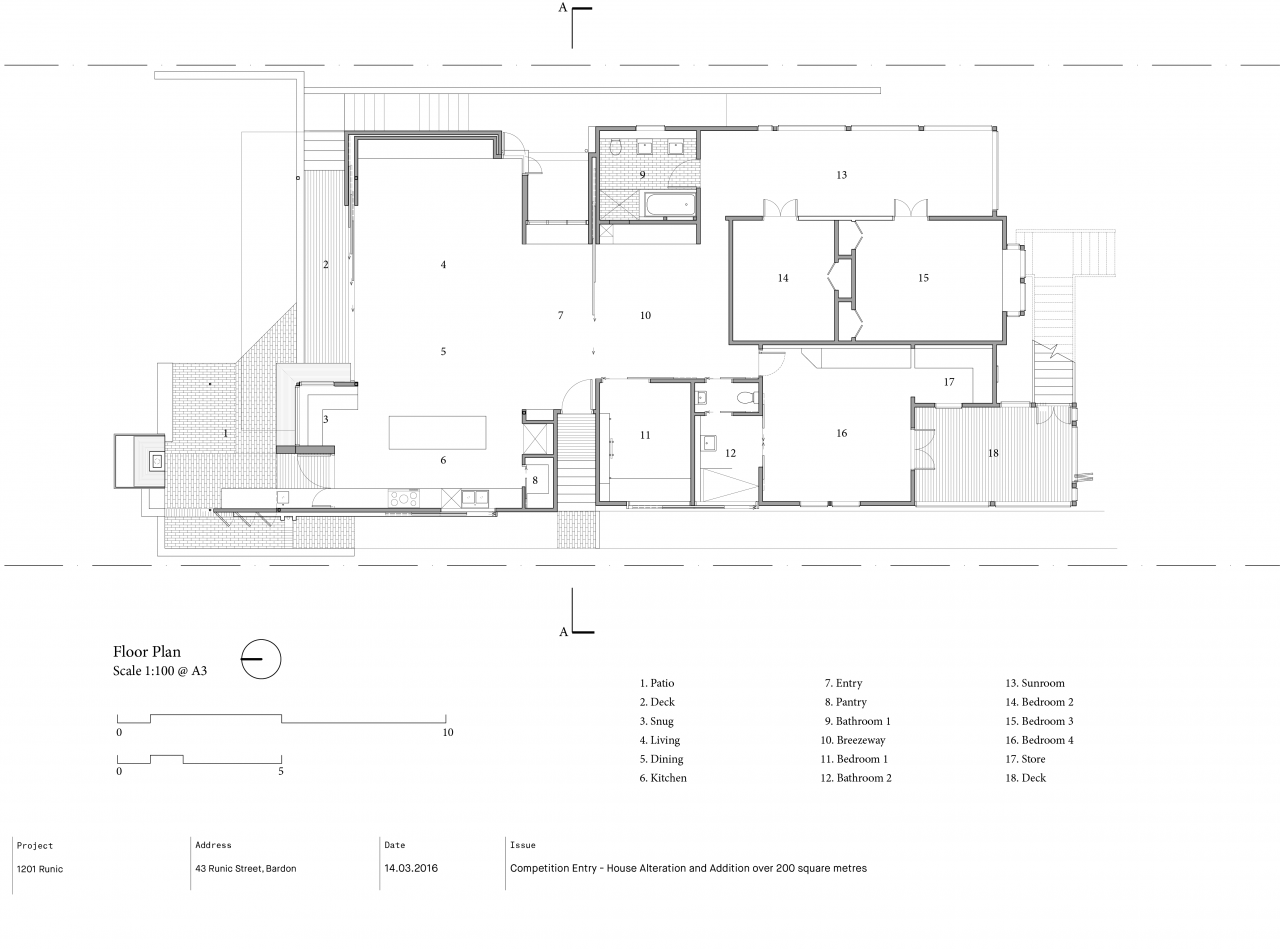 Brisbane Architect Arcke Bardon Gardenplan